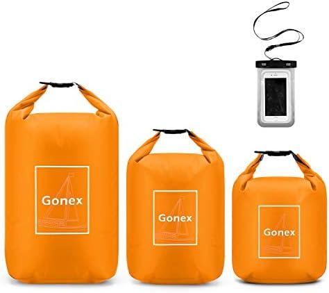Gonex 4L 8L 12L Waterproof Dry Bag Floating Roll Top Compression Dry Sack Stuff Sack Storage product image