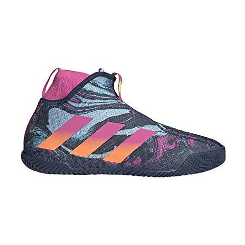 adidas STYCON M, Zapatillas de Tenis Hombre, Crew Navy/Screaming Pink/SCREA, 46 2/3 EU