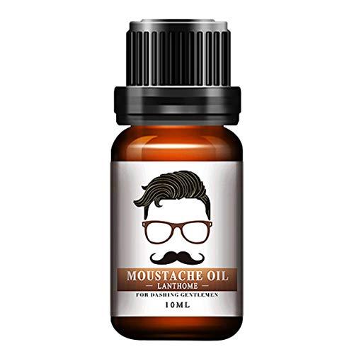 Hommes Naturel Organique Style Huile De Moustache Hydratant Lissant Dashing Gentlemen Beard Oil Visage Soins Des Cheveux