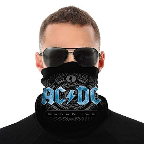 Acdc Bufandas cálidas unisex Pañuelos para la cabeza Sombreros multifuncionales para toallas faciales elásticas Bufandas lavables