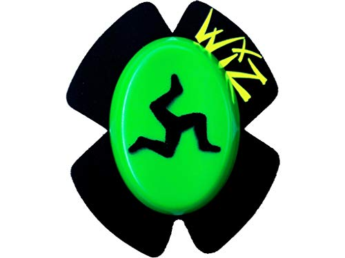 WIZ Racing Knieschleifer, Isle of Man - grün-schwarz