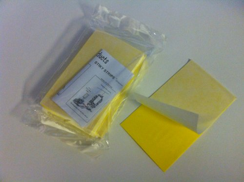 "25ea. 3"" X 5"" Yellow Sticky Traps for White Flies, Aphids, Fungus Gnats & Leaf Miners"