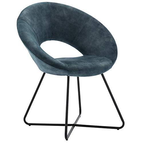 Duhome Modern Velvet Upholstered Accent Chair