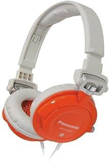 Panasonic Rp-Djs400-D Djs400 Dj Street-Style Headphones (Orange) (Panasonic RP-DJS400-D)