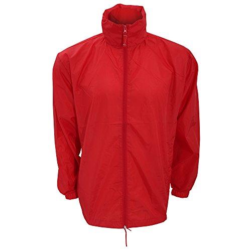 Kariban - Veste Coupe-Vent - Homme (XL) (Rouge)