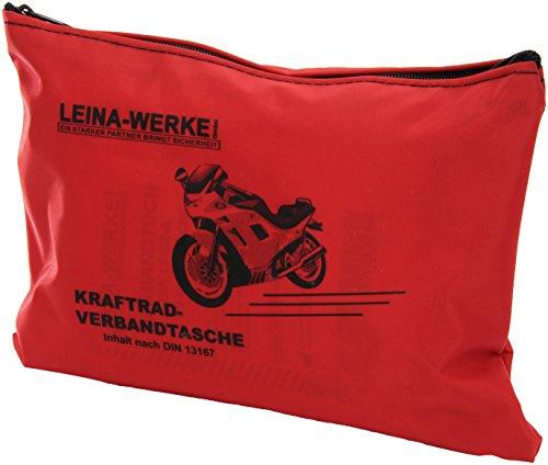 Leina-Werke 17000 Kraftrad-Verbandtasche Typ I ohne Klett, Rot/Schwarz