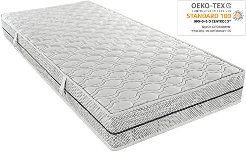 Ortho-Relax Duo-High-Tech Matratze 90x200 cm | H 20 cm (90x200)