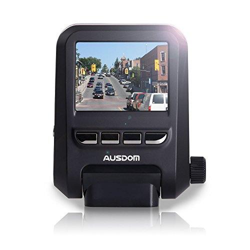 AUSDOM Dash Cam A261, 1080P&1296P Car Cmera Dvr with GPS, G-Sensor ,WDR for Auto Record, 2 Inch View...