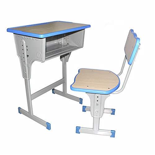 Huanlei Kinder Schreibtische Kippbaren Tisch und Stuhl for Kinder Art Wood Table Set-Arbeitsplatz Höhenverstellbarer Kinder Studie Schreibtisch, Stuhl, Tisch-Set Füttern Reisekinderstuhl
