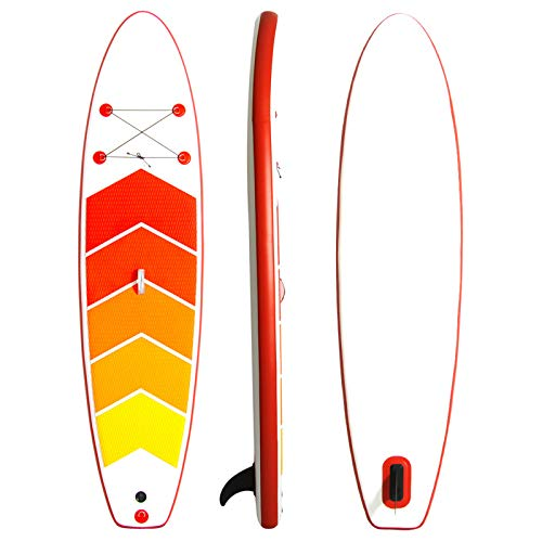 Tabla De Stand Up Paddle Surf Inflable 305 * 76 * 15Cm Cubierta Antideslizante con Accesorios De Sup Postura Ancha, Aletas Inferiores para El Control del Surf Juveniles Adultos Principiantes,A