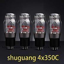4pcs Original Shuguang 350C Valve Matched Quad Tube Amplifier Accessories Repalce EH JJ Svetlana 6P3P 5881 6L6 6L6GC 6L6WGC