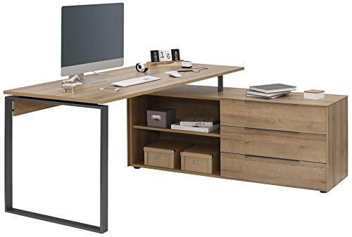 MAJA Möbel YOLO Schreibtisch, Metall, One Size