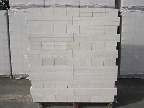1 Palette Porenbeton Plansteine PP2/0,4-5,5 x 17 x 50 cm / 23,00 qm/frachtfrei Inhalt: 288 Stk. Porenbetonsteine