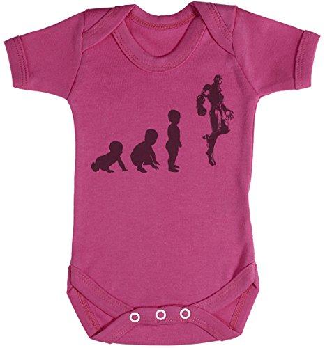 Baby Evolution to A Iron Man Body bébé - Gilet bébé - Body bébé Ensemble-Cadeau - Naissance Rose