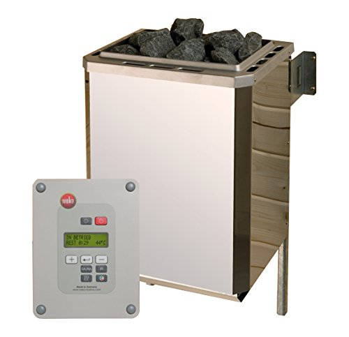 Weka Technikpaket Saunahaus Serie 533, 9,0 kW Saunaofen, Metall, 36,6x38x66,8 cm