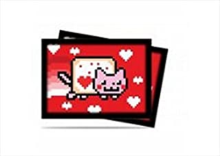 Ultra Pro Valent Nyan Cat Deck Protector, 50 Count
