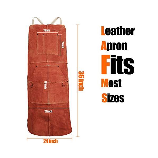 Mayceyee Leather Work Shop Apron 4