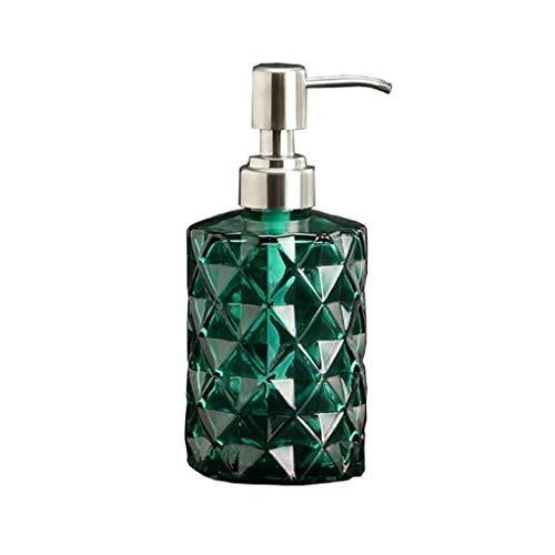 Aveo Schaumseifenspender Seifenspender for Spülbecken in Haushalt & Küche Bad Seifenpumpe Schnapsflasche Edelstahl-Handseife Lotion Pumpe (Color : Green)