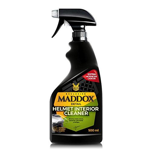 Maddox Detail - Helmet Interior Cleaner - Limpiador interior de casco. Elimina malos olores, bacterias, gérmenes y hongos. (500ml)