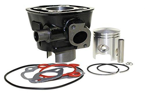 70ccm Racing Sport Zylinder Kit Set für Minarelli 50 wassergekühlt LC Yamaha Aerox YQ50, MBK Nitro, Aprilia SR50, Malaguti