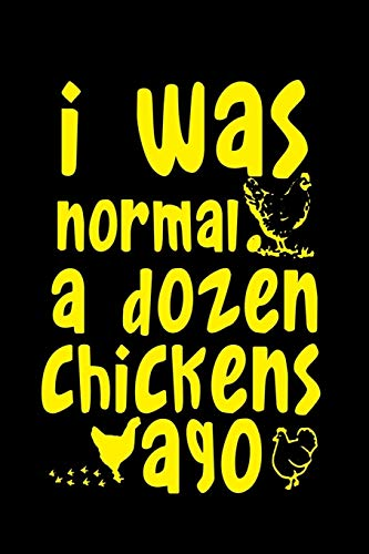 "Lined Notebook CHICKEN Gift 2020: Journal for Writing, College Ruled Size 6"" x 9"", 120 Pages"