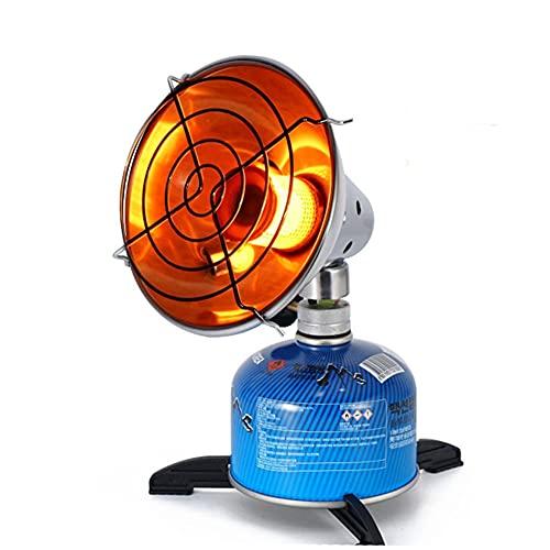 Mini Calentador Ajustable, Calentador de Gas portátil Calentador de al Aire Libre...