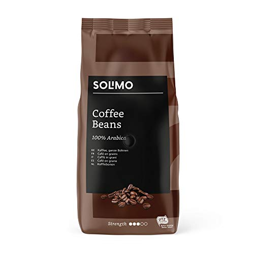 Marque Amazon - Solimo café en grains, 2 kg (2 x 1 kg)