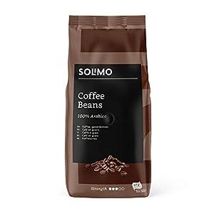 Marca Amazon - Solimo Granos de café 2 kg (2 x 1 kg)