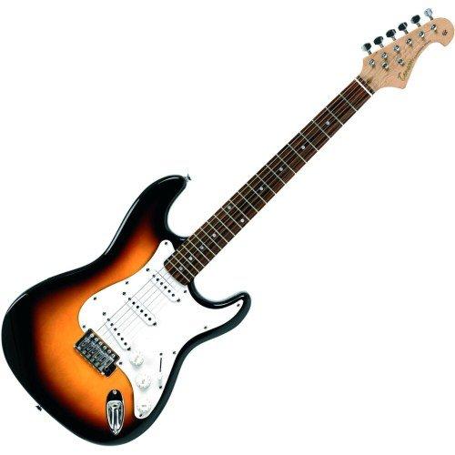 Tenson F503103 E-Gitarre 3-Tone sunburst