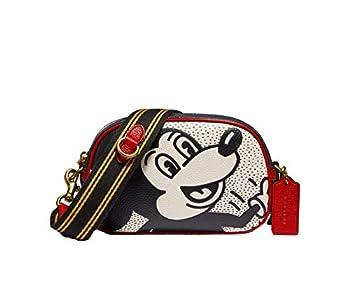 COACH x Disney Mickey Mouse x Keith Haring Crossbody Leather Purse - #C1142