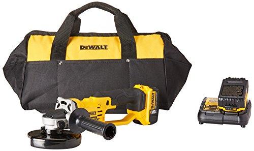 DEWALT 20V MAX Angle Grinder Tool Kit, 4-1/2-Inch (DCG412P2)