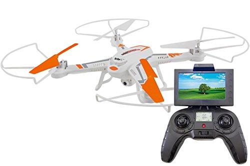 XciteRC 15002130 Quadrocopter, Drohne, weiß