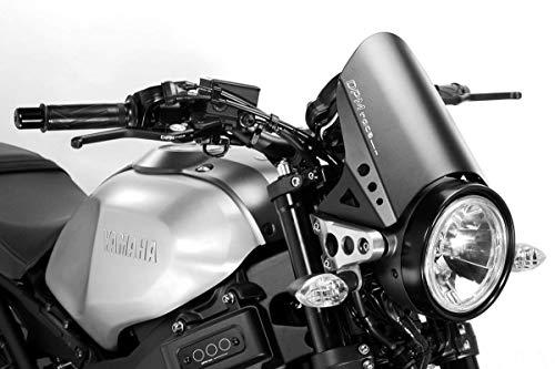 XSR900 2015/20 - Kit Carenabris 'RunBack' (R-0775B) - Parabrisas Lunas Cúpula de Aluminio - Tornillería Incluido - Accesorios De Pretto Moto (DPM Race) - 100% Made in Italy