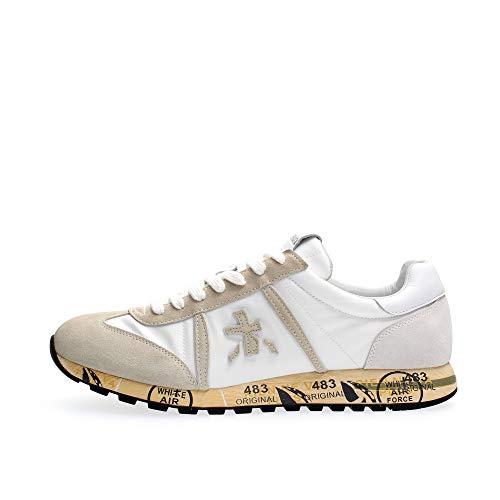PREMIATA Lucy 5153 Sneaker da Uomo in Bianco White, 42