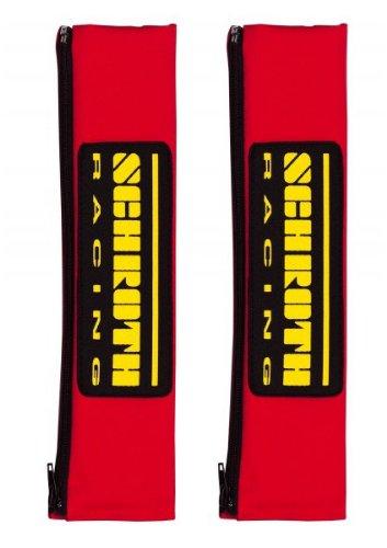 Schroth 2119 Gurtpolster Racing 50mm rot/gelb