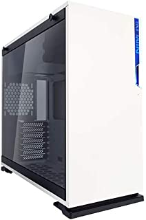 In Win 101 Midi-Tower Blanco - Caja de Ordenador (Midi-Tower, PC, Acrilonitrilo butadieno estireno (ABS), SECC, Vidrio Templado, Blanco, ATX,Micro ATX,Mini-ITX, 16 cm)