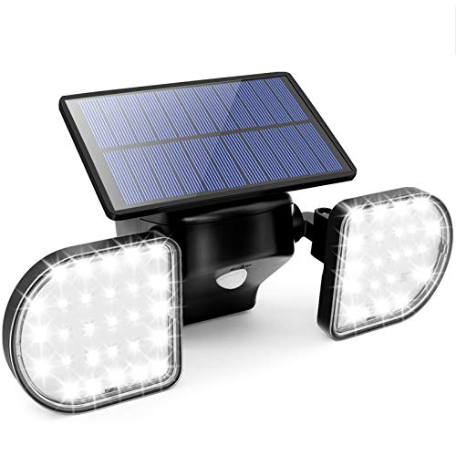 Solar Security Lights Motion Sensor Outdoor,...