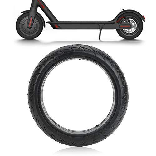 SALUTUYA Flexibilidad Scooter eléctrico Neumático sólido Neumático de Rueda Trasera de Goma elástica Sólido y Duradero, para Xiaomi Ninebot Es1 Es2 Es3 Es4 Scooter eléctrico