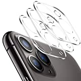 [3 Pack] Tamoria 3D Oneness iPhone 11 Pro / 11 Pro Max Camera Lens Protector Add Flash Circle 9H Clear Tempered Glass Anti-Scratch Anti-Fingerprints for Apple iPhone 11 Pro Camera Cover Accessories