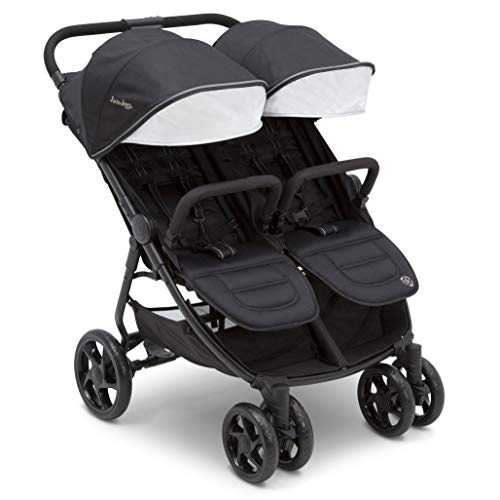 Cheapest Prices! Jeep Destination Ultralight Side x Side Double Stroller, Midnight (Black)