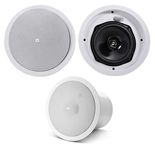 "(2) JBL Control 26C 6.5"" 150w in-Ceiling Home Theater Speakers+Ceiling Subwoofer"