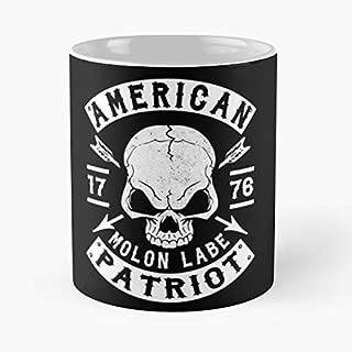 Pro Nra Second Amendment Molon Labe 2nd Gift Coffee/tea Ceramic Mug 11 Oz