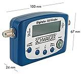 SCHWAIGER -5170- SAT-Finder digital Satelliten-Finder mit integriertem Kompass und Tonausgabe - 4