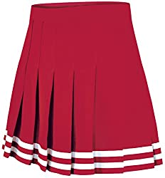 Chasse Double-Knit Knife-Pleat Cheer Uniform Skirt