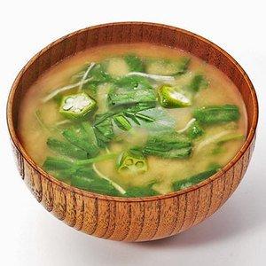 【無添加フリーズドライ味噌汁】 ねばねば野菜のおみそ汁 10袋セット【コスモス食品】