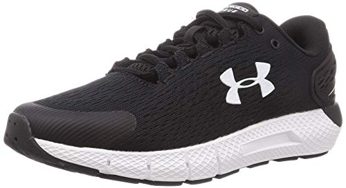 Under Armour Women's Charged Rogue 2 Running Shoe, Black, 9 M US