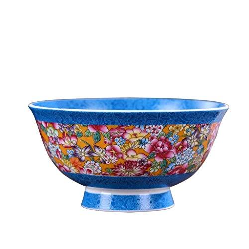WENHAO LJW Bowl Ceramic Bowl Ceramic Bowl -Home Chinese Bone Chiny Rice Rice Stołowiec Single Bowl|Kod towaru:LJW-1586