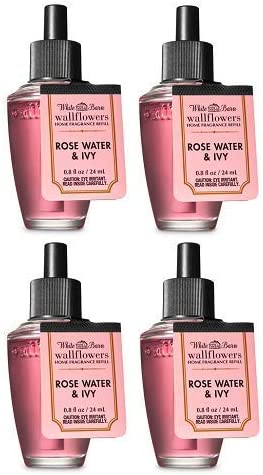 At the price Bath and Body Works 4 Pack Rose Excellence Fragranc Ivy Wallflowers Water