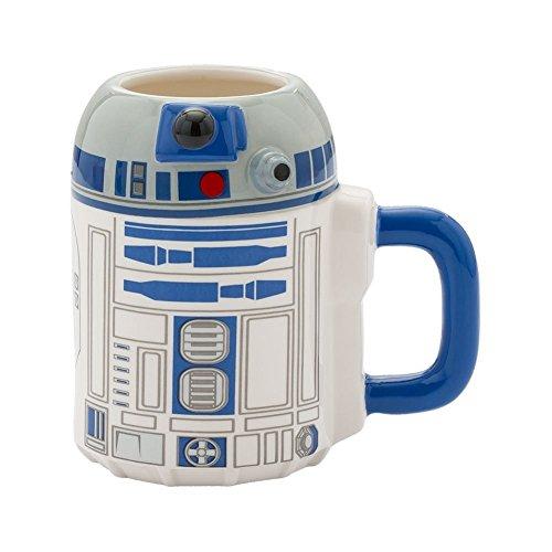 Star Wars R2-D2 - Taza de cerámica esculpida (20 oz)
