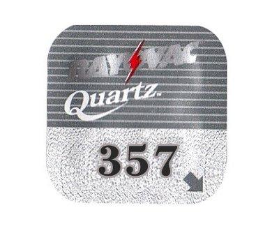 GP Boîte de 10piles auditives Rayovac ray357q 1pila Bouton à Oxyde d 'Argent pour montre en Vrac